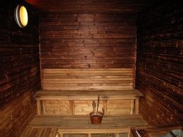 Ambulance station sauna, Iceland