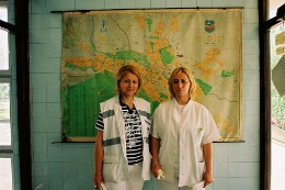 Dr and Nurse crew, Macedonia